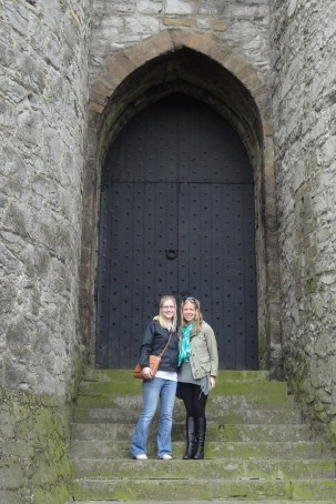 Laura and I at King John's Castle