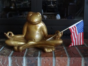 Mom's 4th of July frog