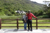 Joe and I at Kylemore Abbey