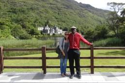 Joe and I at Kylemore Abbey