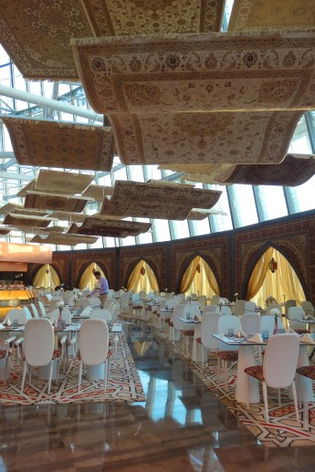 restaurant in the Aspire Torch