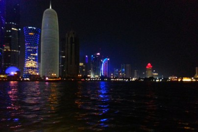 Doha run after the sun sets