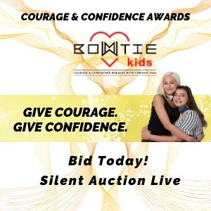 bowtie kids 300x300 banner ad silent auction