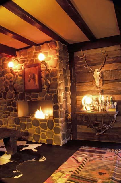 Eine von Rolf Zimmermann eingerichtete Lodge