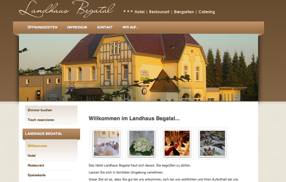 landhaus begatal_living in owl