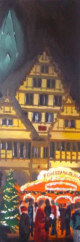 Bild Acryl auf Leinwand Mersch-Art