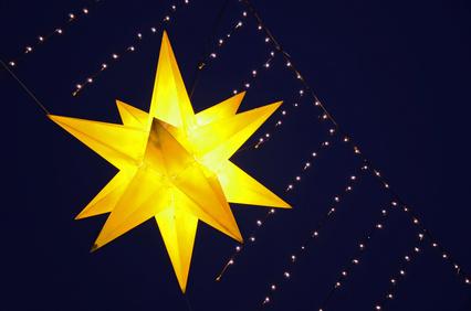 Stern am Himmel