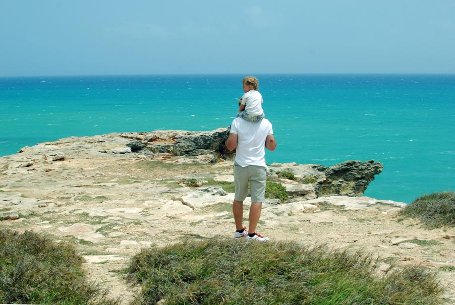 View from cliffs, Cabo Rojo
