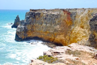 Cabo Rojo Cliffs, Puerto Rico. Photo by http://palmasdelmarphotography.com
