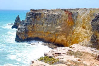 Cabo Rojo Cliffs, Puerto Rico. Photo by http://palmasdelmarphotography.com