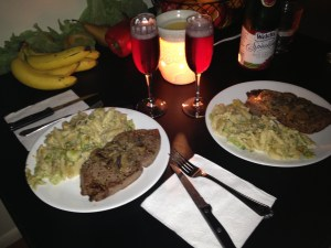 Budget Valentine's Day Dinner - Make it Yourself. Check out more tips for a budget Valentine's Day by clicking through.