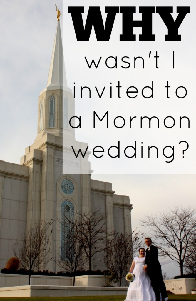 This article explains the differences between an LDS sealing and a traditional wedding. Share this to your wedding board if you are planning a Mormon wedding.