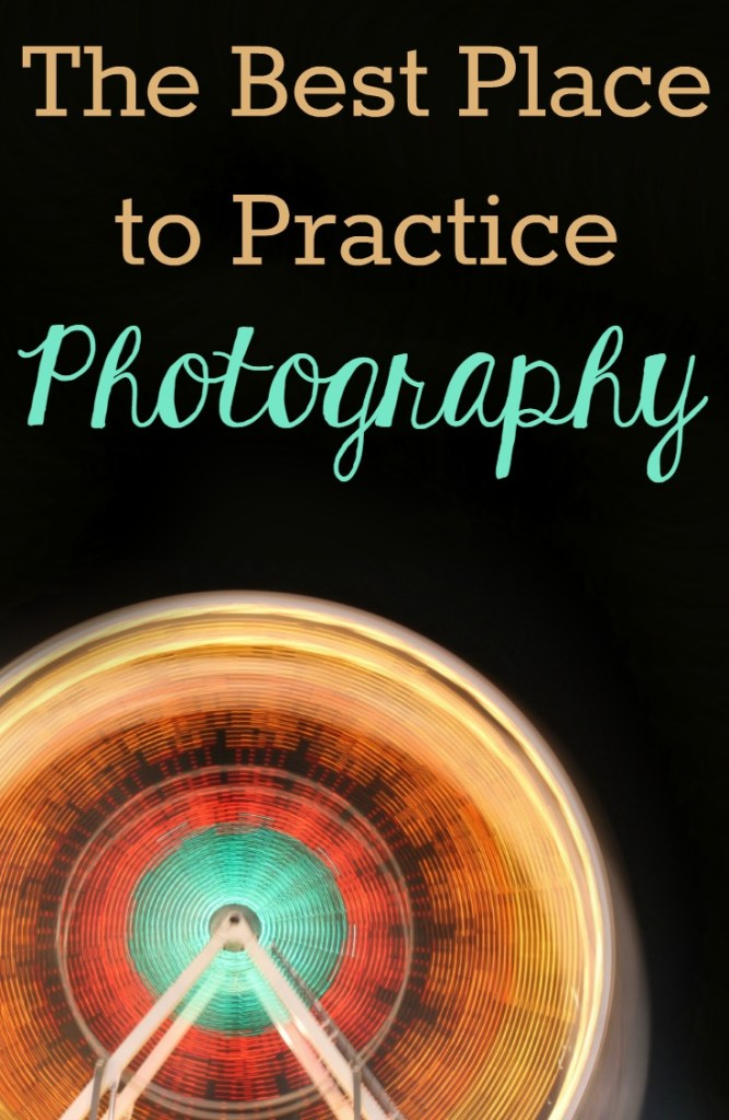 The Best Place to Practice Photography | This is a great idea. I should definitely get out there and try this to improve my beginner photography skills.