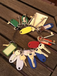 A better type of insurance against future key loss . . .