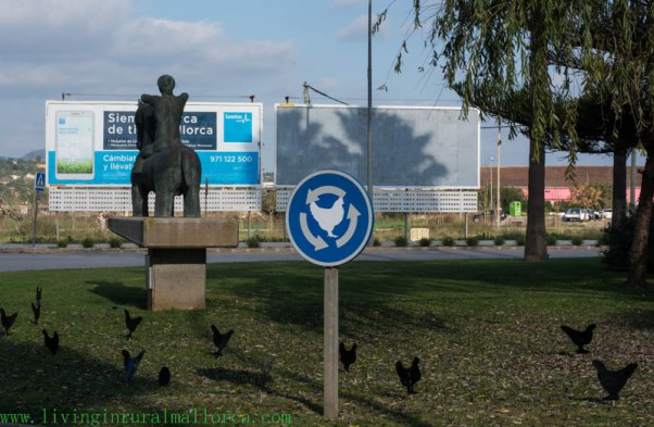 Chickens return . . . in a roundabout way