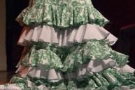 Flamenco dress detail