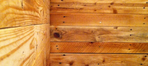 pallet-panelling