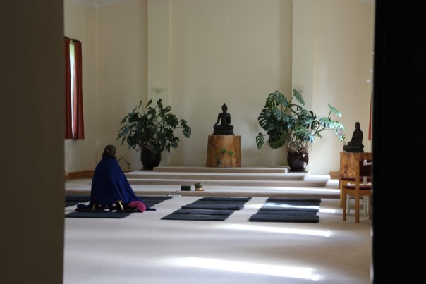 Meditation Hall at Gaia House