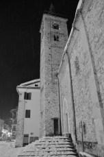 Limone Piemonte town square church