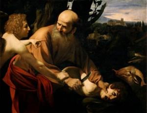Sacrifice_of_Isaac-Caravaggio_(Uffizi)
