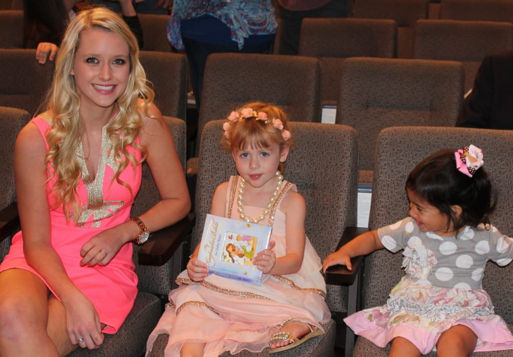 Miss Taylor and Brielle (sweet Ellie too). I think Brielle and Taylor are twins separated by 18 years or so, as the stories Taylor tells from her Mom's recollections of her childhood parallel Brielle perfectly. I sure hope Brielle can grow up to be like Miss Taylor!