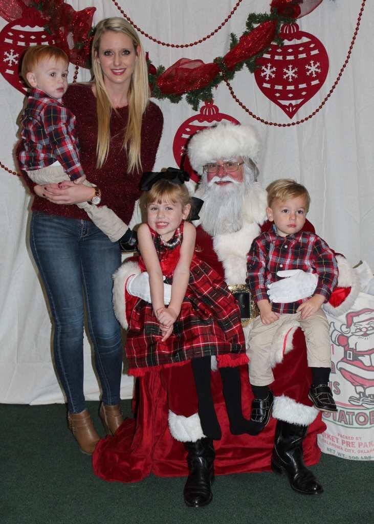Taylor and kids xmas 2015