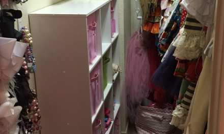 Organization in the New Year: Girl's Closet