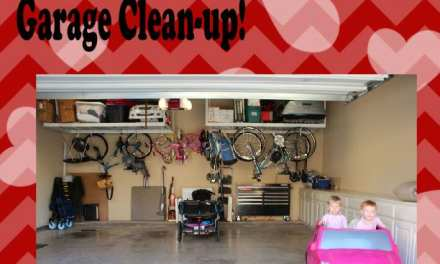 Valentine's Day Gift for My Hubby- A Clean Garage!