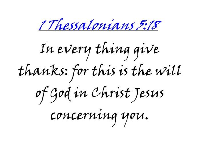 Verse on Gratitude