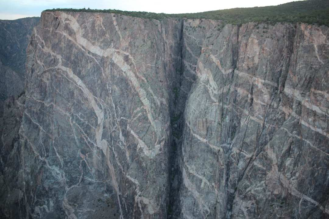 """""""Painted Wall"""" at Black Canyon of the Gunnison National Park"""