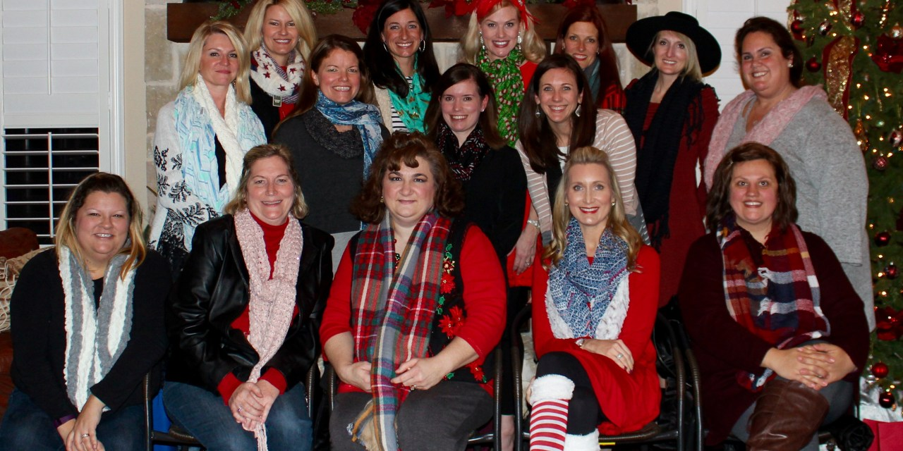 Moms of Multiples Board Christmas Party