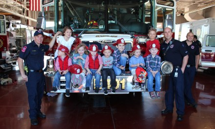 Birthday at the Fire Station