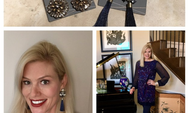 Style- Tory Burch Dress and BaubleBar Jewelry (Entire outfit under $100)
