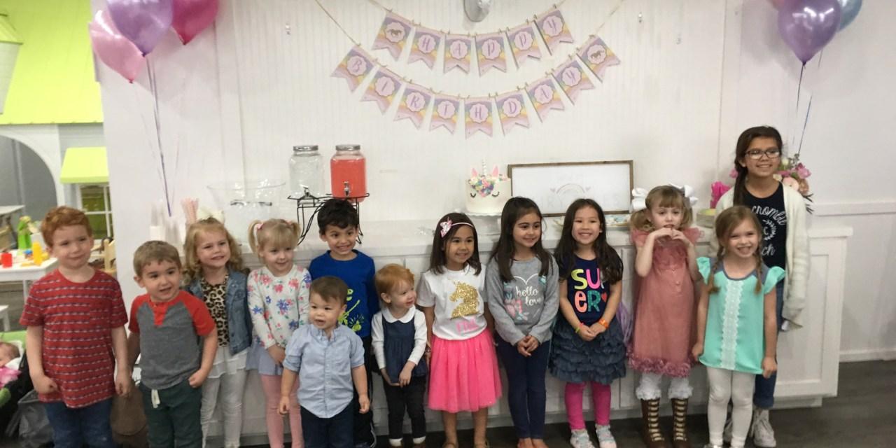 A Rainbow and Unicorn Birthday Party