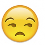 annoyed emoji