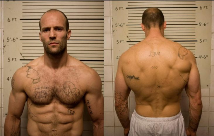 Jason Statham Body Transformation