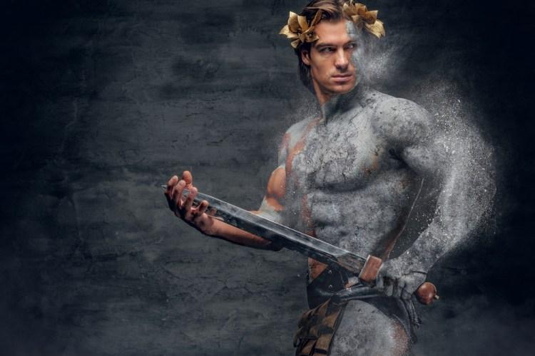 greek god physique