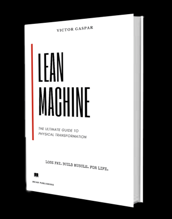 lean machine, book, victor gaspar, living lean and mean, fitness, lose fat, build muscle,