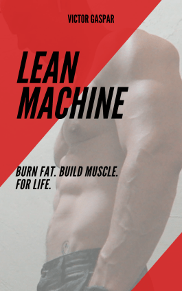 lean machine cover, fat loss transformation