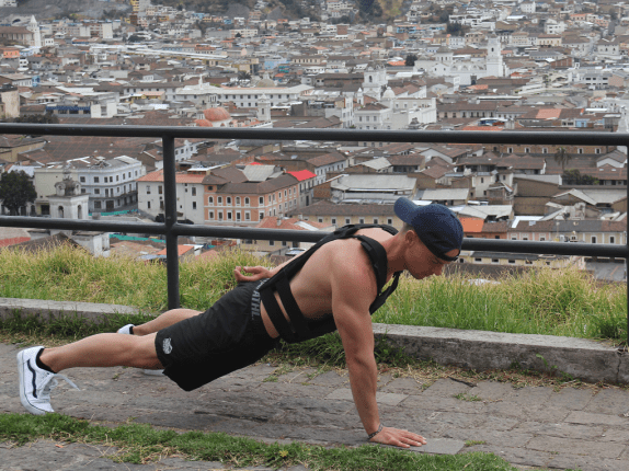 bodyweight training, push ups, victor gaspar