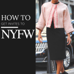 How to Get Invites to NYFW