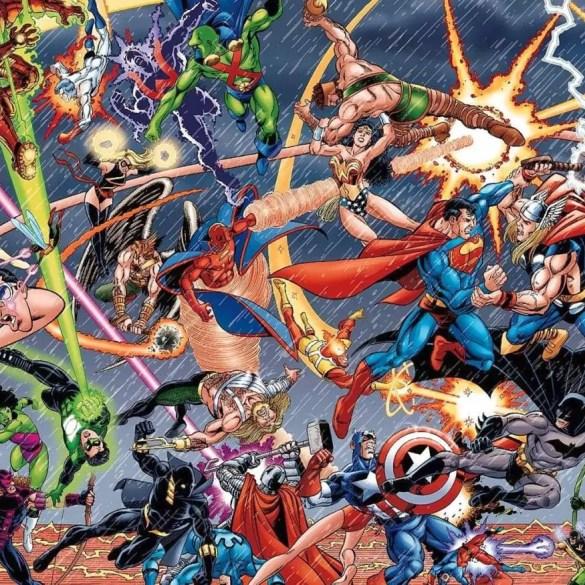 Comic books mythology