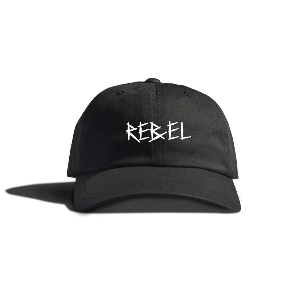 Rebel Dad Hat Front Mockup