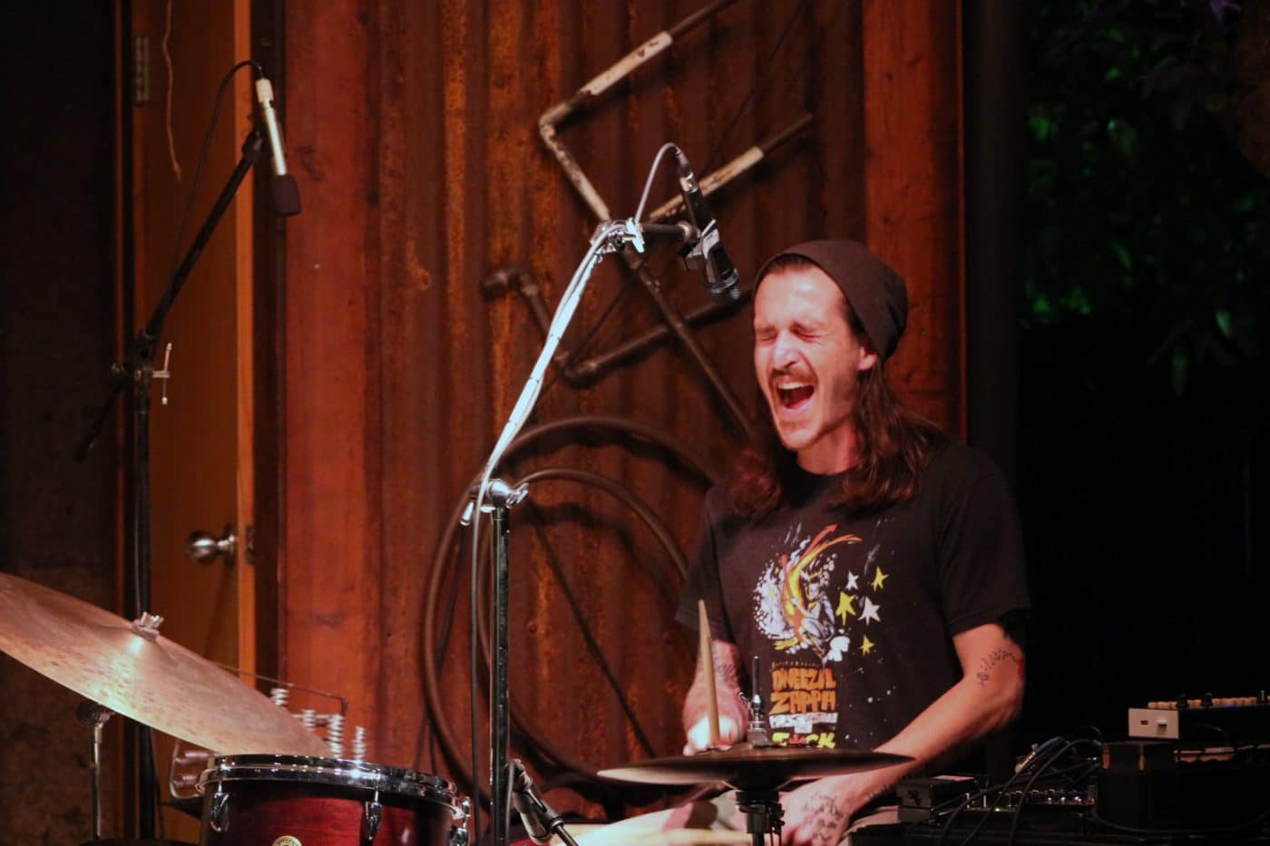 Adam Morford performs with his band Tallgrass