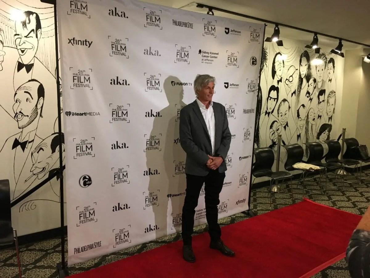Director John Curran of Chappaquiddick, at the 2017 Philadelphia Film Festival (Stephen Silver)