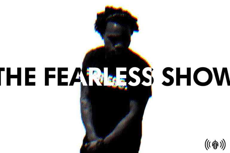 Cautious optimism for Black Panther, untraining your creative mind, and the themes of body perception and mental conditioning in Marvin Touré's art work | Podcasts | The Fearless Show | LIVING LIFE FEARLESS