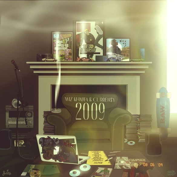 Wiz Khalifa & Curren$y - 2009 | Reactions | LIVING LIFE FEARLESS