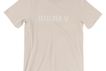 Cultured AF Tee in Soft Cream | Shop | LIVING LIFE FEARLESS