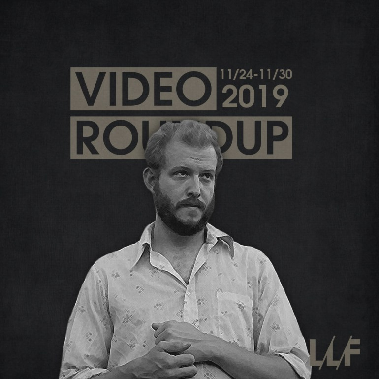 Video Roundup 11/24-11/30   News   LIVING LIFE FEARLESS