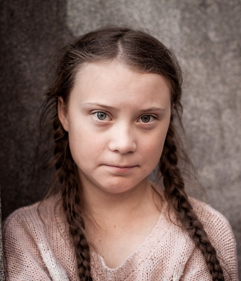 "Greta Thunberg appears in Pearl Jam's music video to ""Retrograde"" 